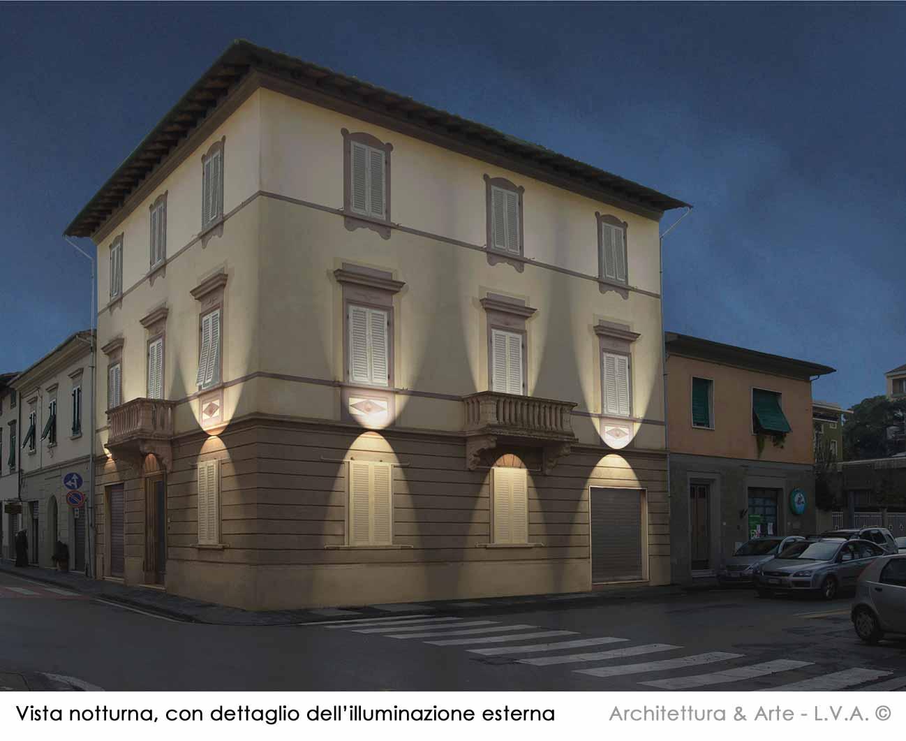 A a progetti architettonici for Prospetti ville moderne